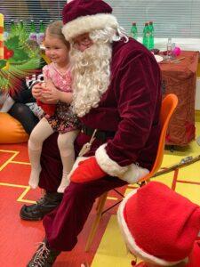 lapsega jõuluvana